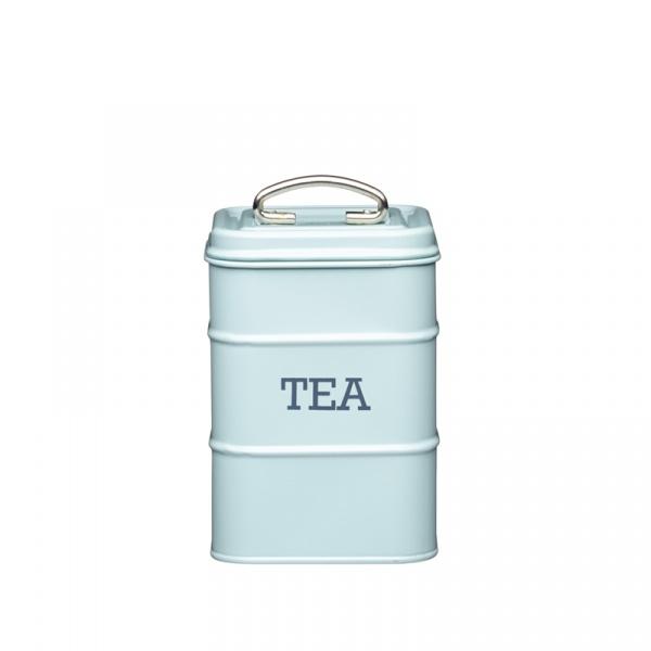 Pojemnik na herbatę Kitchen Craft Living Nostalgia miętowy LNTEABLU