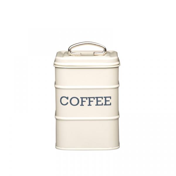 Pojemnik na kawę Kitchen Craft Living Nostalgia kremowy LNCOFFEECRE