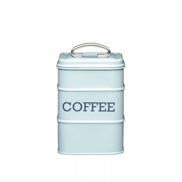Pojemnik na kawę Kitchen Craft Living Nostalgia miętowy LNCOFFEEBLU
