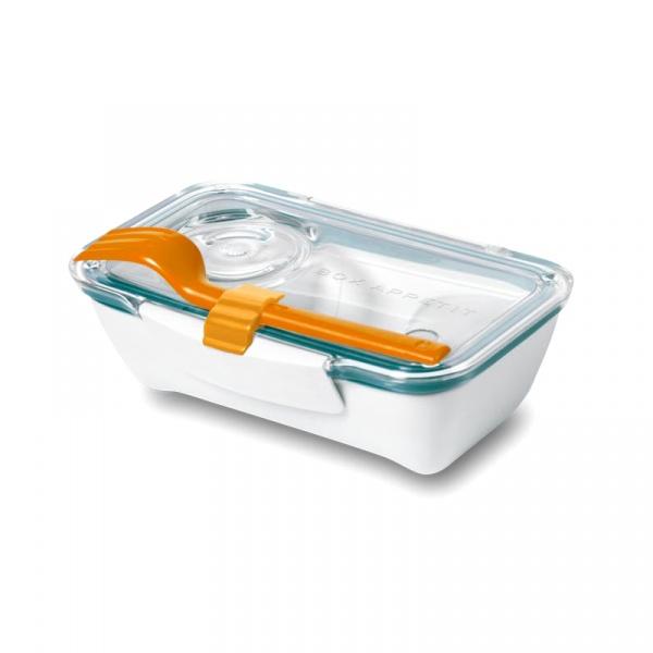 Pojemnik na lunch 500 ml BENTO BOX Black&Blum pomaranczowo-niebieski BT005
