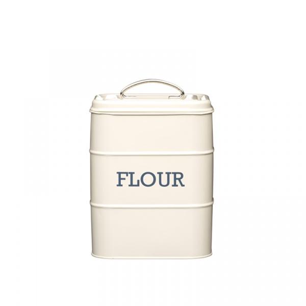 Pojemnik na mąkę Kitchen Craft Living Nostalgia kremowy LNFLOURCRE