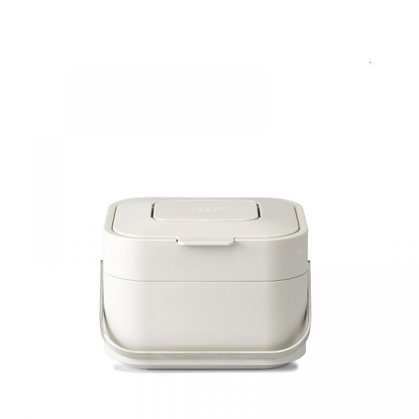 Pojemnik na odpady organiczne z filtrem Joseph Joseph Intelligent Waste Stack beżowy 30015