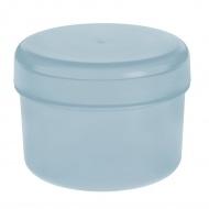 Pojemnik na patyczki kosmetyczne 10x8cm Koziol Rio pastelowy błękit