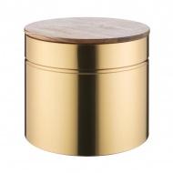 Pojemnik na pieczywo Modern Kitchen Typhoon złoty
