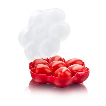 Pojemnik na pomidorki koktajlowe Tommorow's Kitchen czerwony
