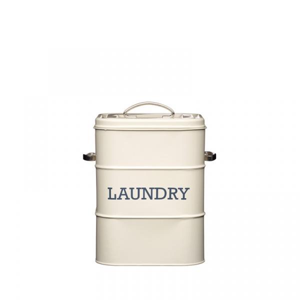 Pojemnik na proszek do prania Kitchen Craft Living Nostalgia kremowy LNLAUNDRYCRE