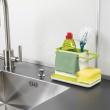 Pojemnik na przybory do zmywania Joseph Joseph Caddy biało-zielony 85021