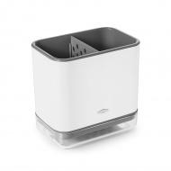 Pojemnik na przybory do zmywania OXO Good Grips biało- szary