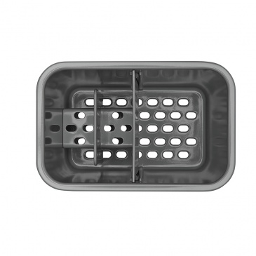 Pojemnik na przybory do zmywania OXO Good Grips srebrny
