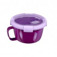 Pojemnik na zupę (0,9 L) Smart To Go Curver (fioletowy)