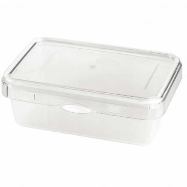 Pojemnik na żywność 1100ml Foodie Push&Push biały 26544
