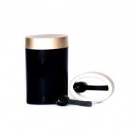 Pojemnik owalny 0,6 l O'LaLa czarno-złoty