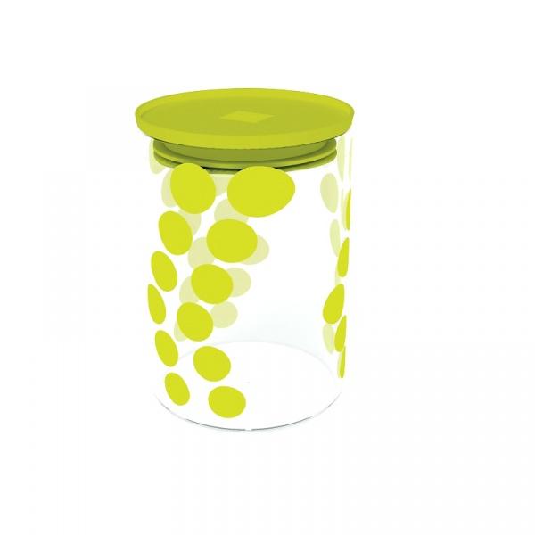 Pojemnik szklany 0,9 L Zak! Design zielony 0204-860