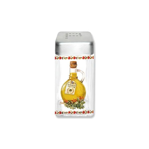 Pojemnik szklany z pokrywą na pieprz Nuova R2S Glass Collection PEP110 KIT