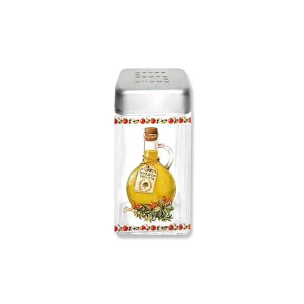 Pojemnik szklany z pokrywą na sól Nuova R2S Glass Collection SAL110 KIT