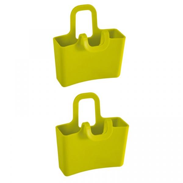 Pojemnik wielofunkcyjny na kubek 2 szt. Koziol Lilli zielony  KZ-3558582