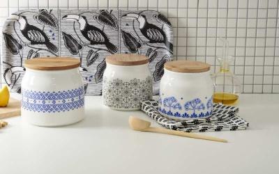 Pojemniki kuchenne porcelanowe - czy warto?