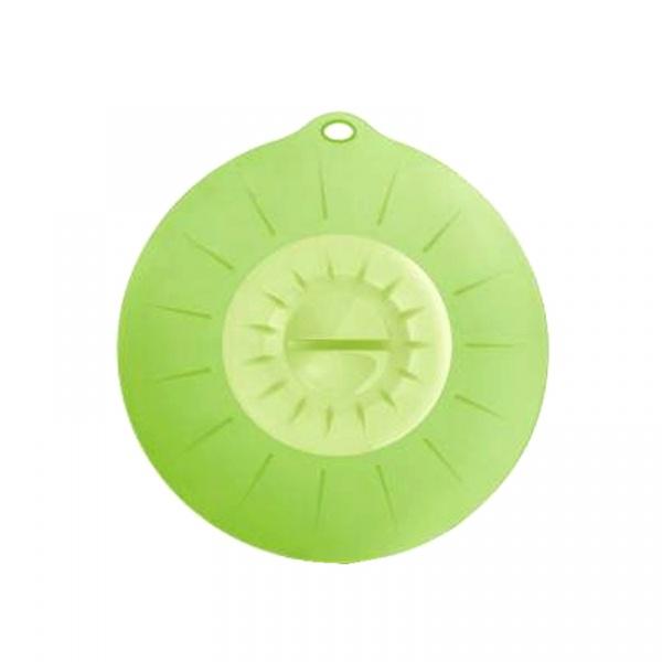 Pokrywka silikonowa 22 cm Silicone Zone zielona SZ-10130-AM