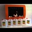 Polana ceramiczna do biokominków 4 szt. Ecofire EF-010