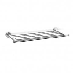 Półka łazienkowa 66x6x24cm Zack Scala srebrna