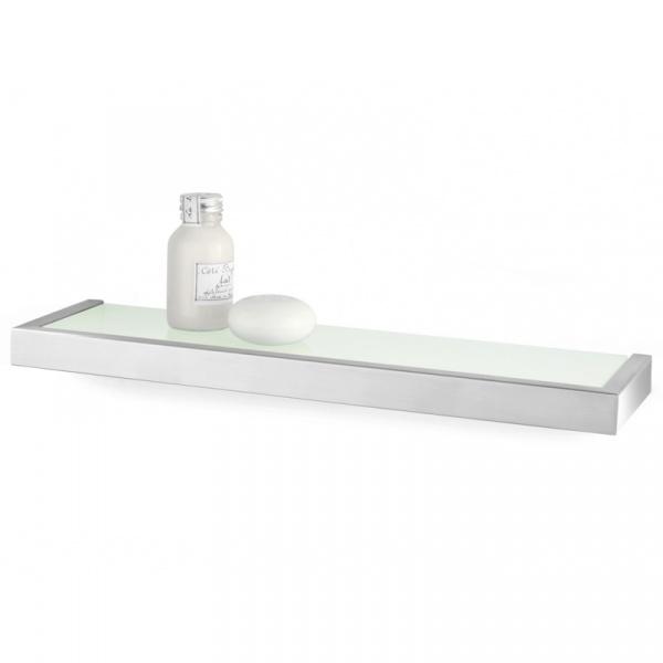 Półka łazienkowa szklana 46,5 cm Zack Linea ZACK-40384