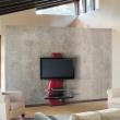 Półka pod TV z maskownicą Ghost Design 2000 z rotacją Meliconi czerwona 488090