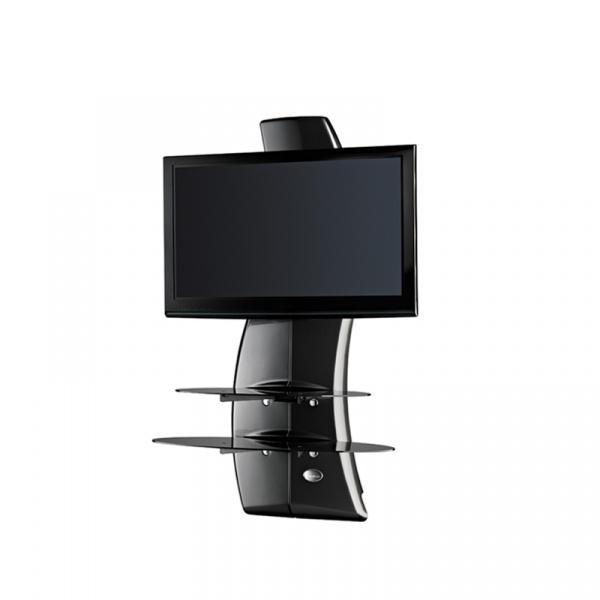 Półka pod TV z maskownicą Meliconi Ghost Design 2000 carbon 488067