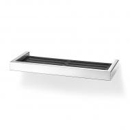 Półka prysznicowa 32,5x13,5x3cm Zack Linea czarno-srebrna