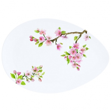 Półmisek z porcelany 24x16,5 cm Nuova R2S Sakura