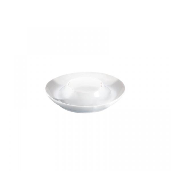 Porcelanowa podstawka na jajko Cilio biała CI-105209