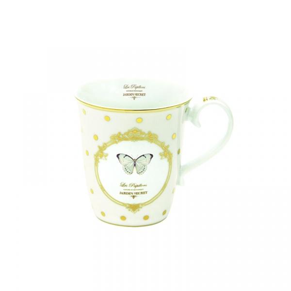 Porcelanowy kubek Nuova R2S Elegance 1101 DOB