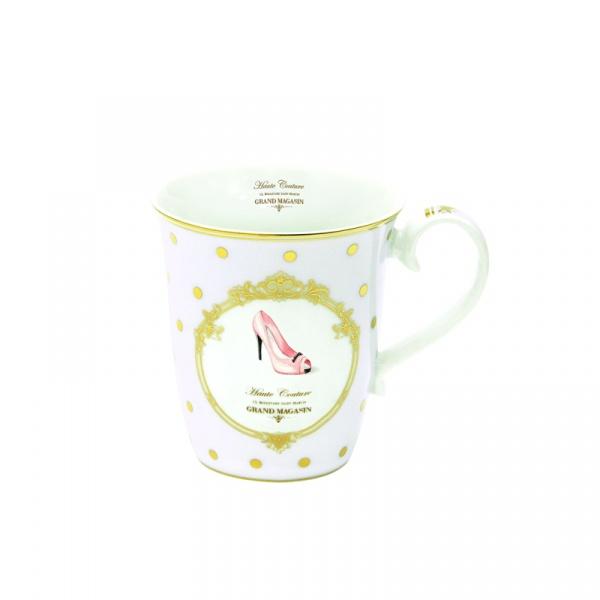 Porcelanowy kubek Nuova R2S Elegance 1101 DOF