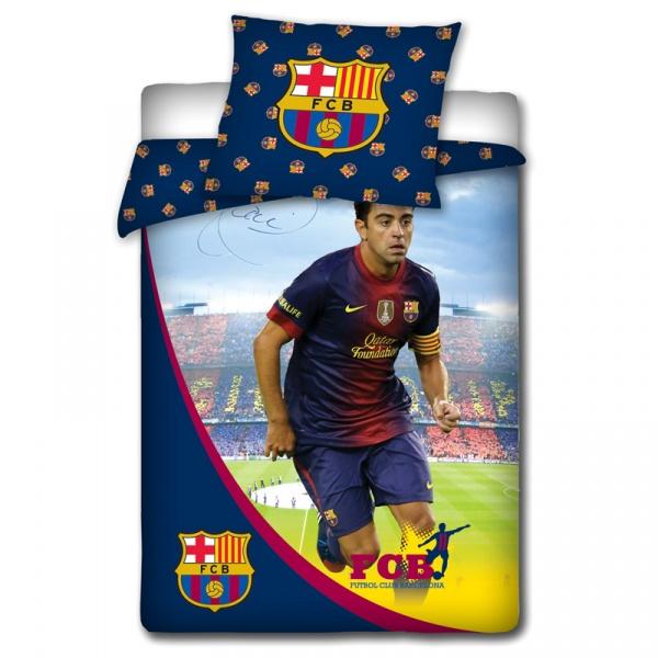 Pościel 160 x 200 cm Carbotex FC Barcelona Xavi 5907629307136