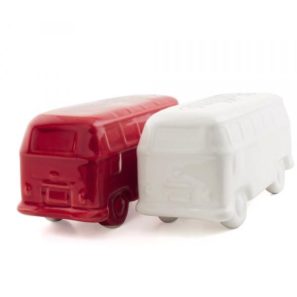 Przyprawnik 10,2x4,7x4 cm BRISA VW BUS czerwono-biały BR-BUPS01
