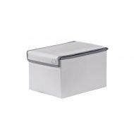 Pudełko 25x18x15 Koziol Volta S srebrnoszare