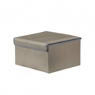 Pudełko 25x25x15 Koziol Volta M ciemnoszare