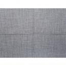 Pufa jasnoszara - hoker - podnóżek tapicerowany - otomana - OSLO