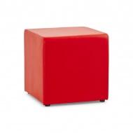 Pufa Rubik Kokoon Design czerwony