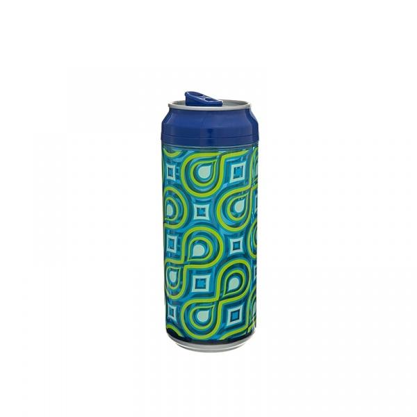 Puszka 473 ml Cool Gear Can zielono-niebieska 1619-5