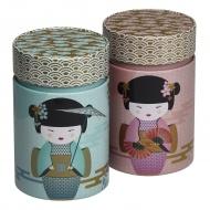 Puszka na herbatę 150g New Little Geisha turkusowa 75117