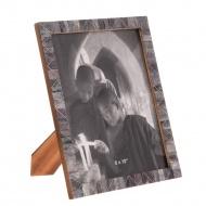 Ramka na zdjęcia Mosaic Washed Denim 23x1x28 cm