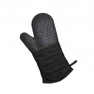 Rękawica silikonowo-bawełniana Lurch czarna
