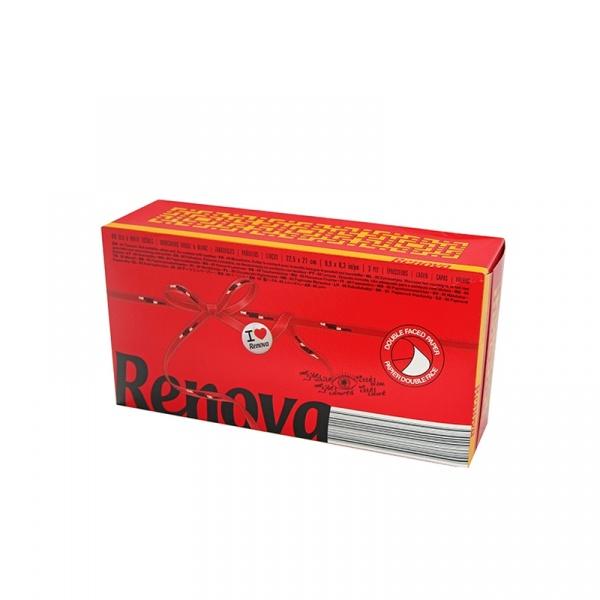 RENOVA 80szt. Chusteczki wyciągane czerwony karton 5601028020985