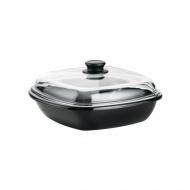 Riess - Garnek/Brytfanna z wkładem do gotowania na parze Riess