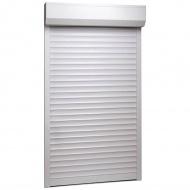 Roleta zewnętrzna, aluminiowa, 110 x 220 cm, biała
