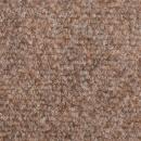 Samoprzylepne nakładki na schody, 15 szt., 65x21x4 cm, brązowe
