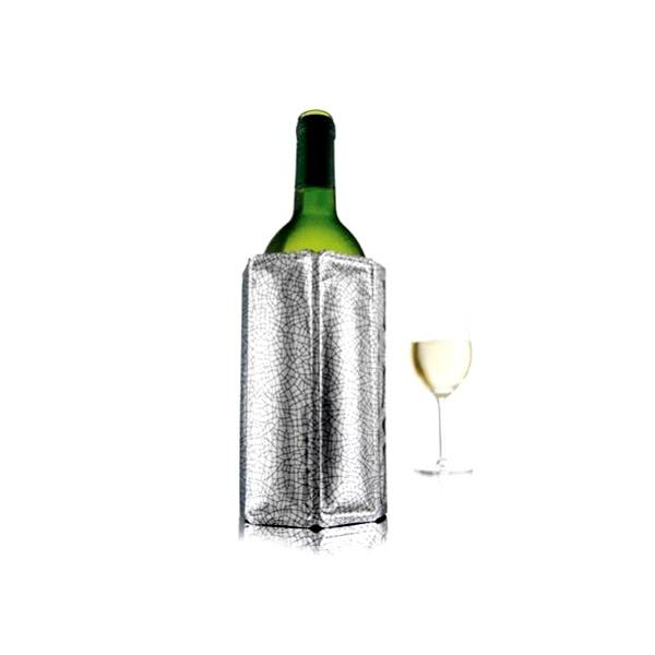 Schładzacz do wina Vacu Vin srebrny VV-3880360