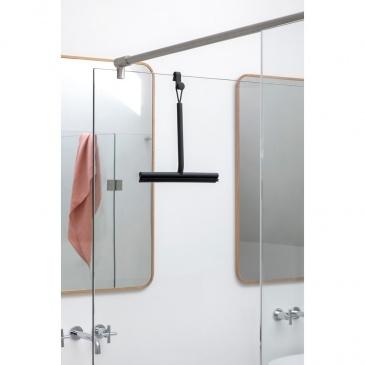 Ściągaczka prysznicowa z uchwytem ReNew ciemnoszara 280160