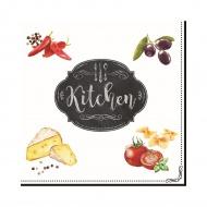 Serwetki 20 szt. 3 warstw. Nuova R2S Kitchen Basics