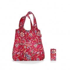 Siatka mini maxi shopper paisley ruby